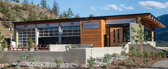 Fort Berens' impressive new winery and tasting room opened in 2014 (Image courtesy of Fort Berens))