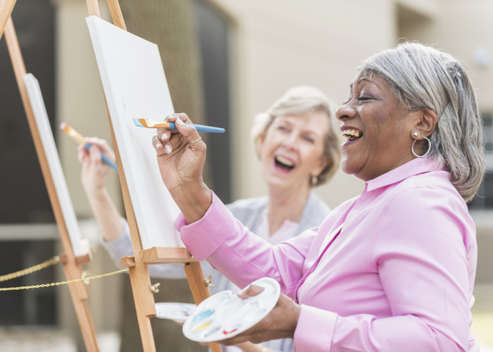 Two of the Best Activities for Older Adults: Art and Music