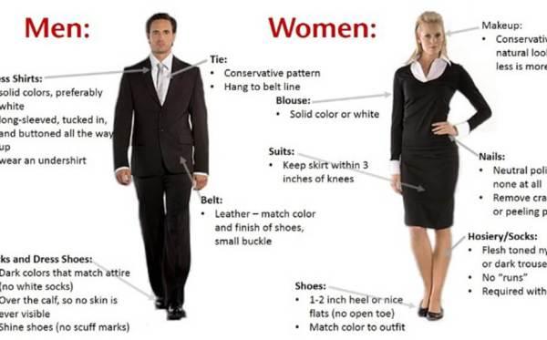 proper attire for a job interview