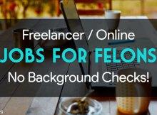 Online technical jobs for felons