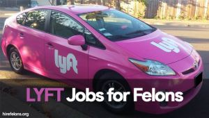 Lyft Jobs for Felons