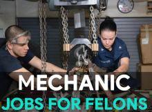 mechanic work for felons