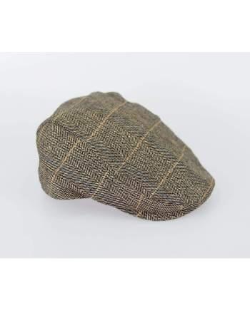 Cavani Albert Brown Flat Cap - S/M - Accessories