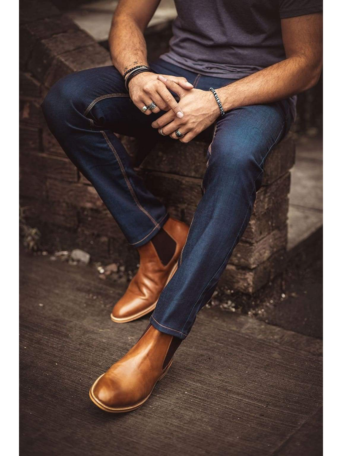 Cavani Cole Raw Jeans - 30S - Jeans