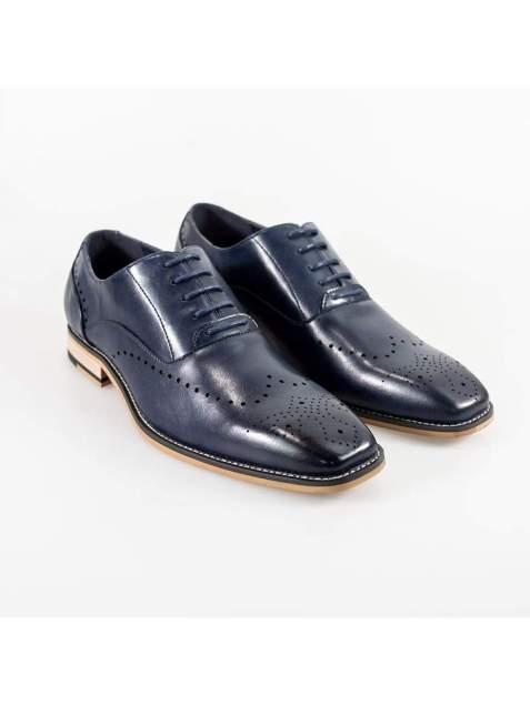 Cavani Fabian Mens Navy Shoe - UK7 | EU41 - Shoes