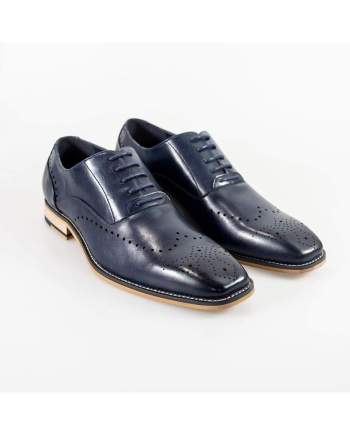 Cavani Fabian Mens Navy Shoe - UK7 | EU41 - Shoes