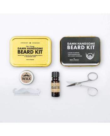 Damn Handsome Beard Grooming Kit - Personal care