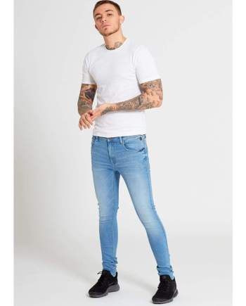 DRAX Super Skinny Jeans In Light Wash - Jeans