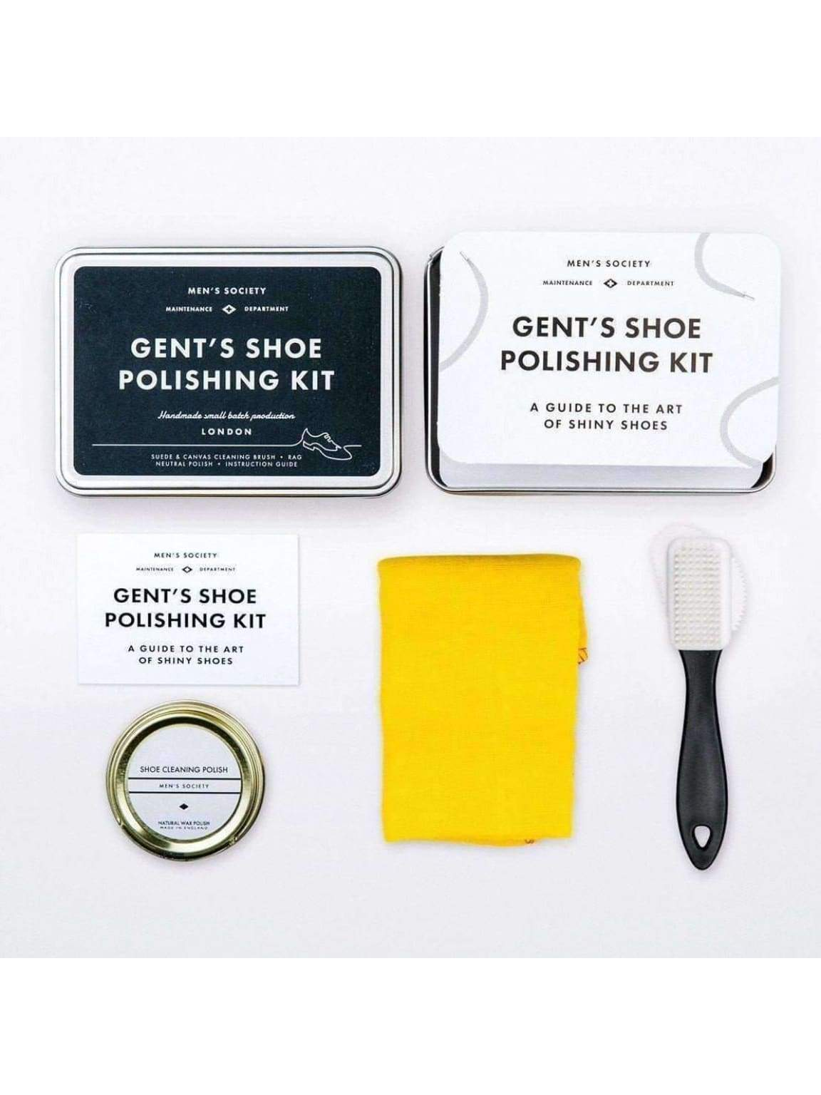Gents Shoe Polishing Kit - Personal care