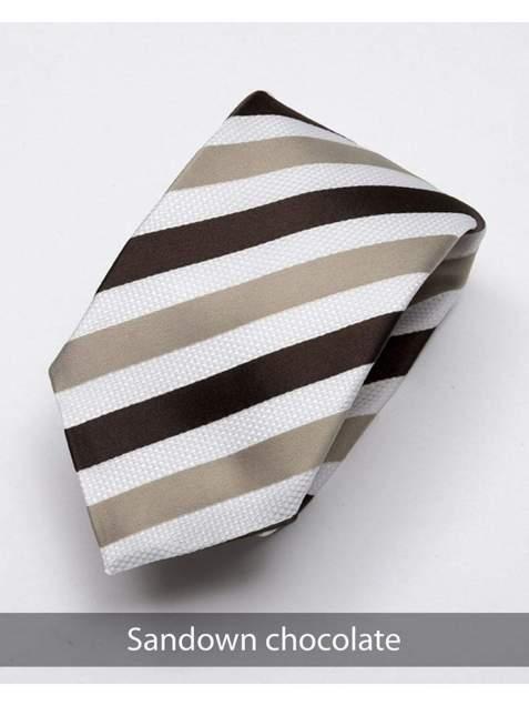 Heirloom sandown Mens Chocolate Stripped Tie - Accessories