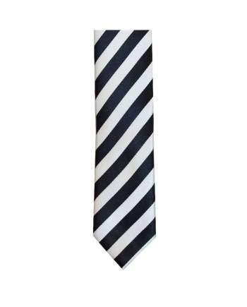LA Smith Black And White Skinny Stripe Tie - Accessories
