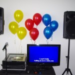 Gold Karaoke 32inch screen 12inch speakers