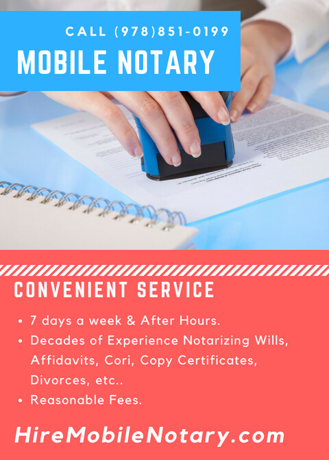 Call Mobile Notary Near Me