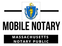 Mobile Notary Public For Massachusetts