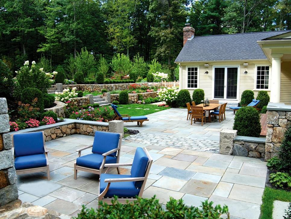 Backyard design ideas and DIYs | HireRush Blog on Hardscape Patio id=85229