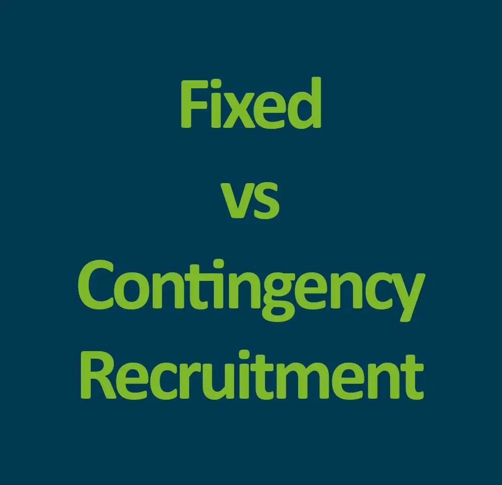 Fixed Vs Flat Fee Recruitment