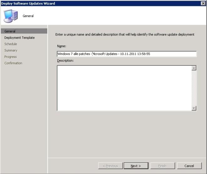 Wizard - Deploy Software Updates