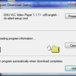 Program Download Status