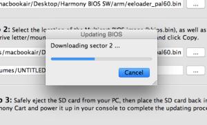 Updating die Firmware