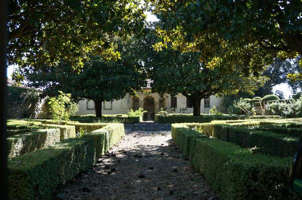 イタリアの庭散歩、ブッファリー二城の庭園