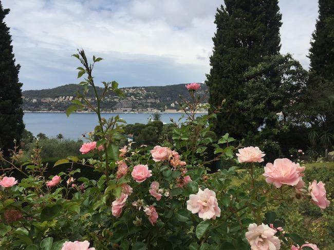 南フランス・ガーデンツアー、エフルッシ・ド・ロスチャイルド庭園