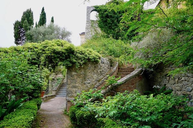 地中海の庭、ハンブリー植物園の風景