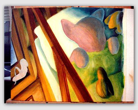 Book, Beautiful Art book, Japanese contemporary artist in USA, Hiroko Sakai Fine Art, best seller book, popular book, children's book, cat book, purple cat, adventure book, best for gift, gift for kids