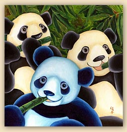 children's book, cool children's book, heartwarming children's book, panda story, panda illustration, animal illustrations, blue panda, sign language, sign language hand chart, cute panda,panda,dreams, challenge, gay family, same sex marriage, gay parents, adoption, sky blue, babble, heartwarming story, family, love, artist illustration, hiroko sakai, hiroko, san francisco local artist, gift for kids, cool gift for children, cool, cute