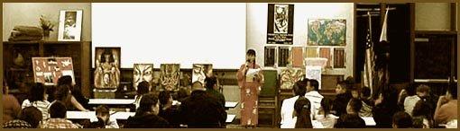 artist speech, artist life path, artist life, japanese artist, hiroko sakai, lindsay speech