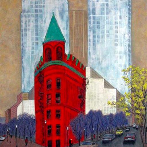Hiroshi Yamamoto_Flat Iron Building Toronto