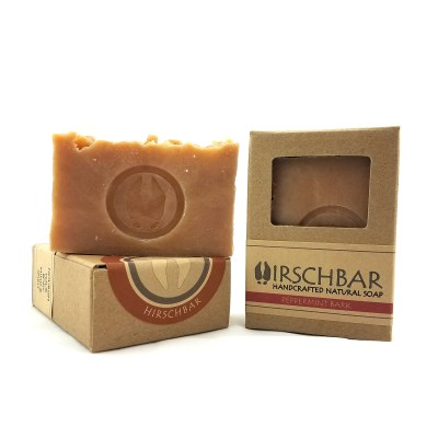 Seasonal Peppermint Bark Scented Soap