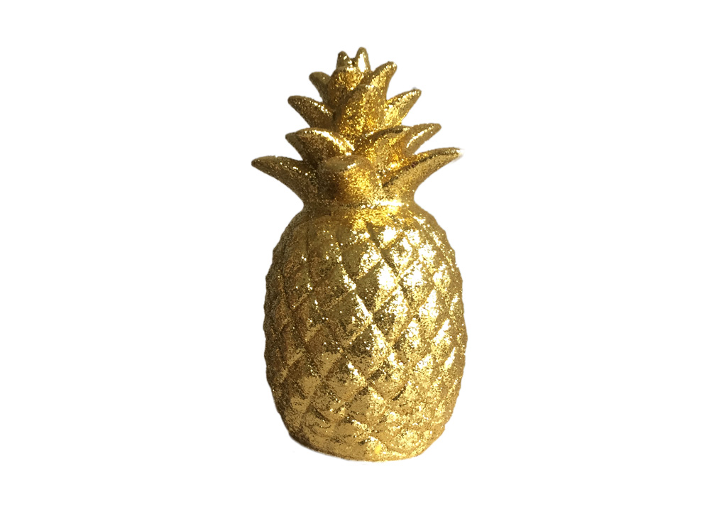Home Decor Pineapple Pineapple gold