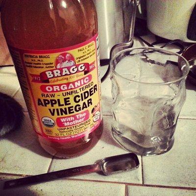 Dilute Apple Cider Vinegar