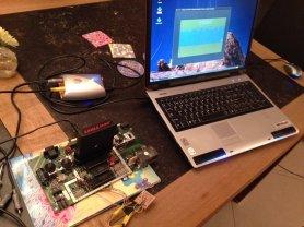 Testing of the Prototype with an USB AV Grabber