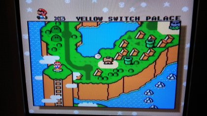 Super Mario World - World Map - Composite
