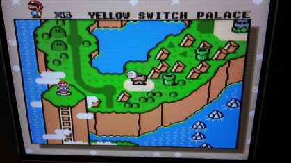 Super Mario World - World Map - RGB