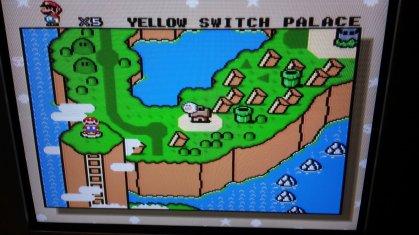 Super Mario World - World Map - RGB