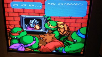 TMNT IV - Turtles in Time - Story Intro - Composite