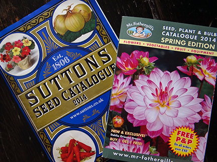 Two seed catalogues
