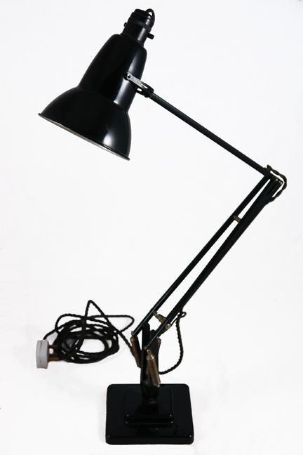 original vintage 1950s black 1227 Anglepoise lamp