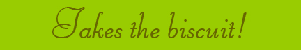"""Takes the biscuit"" blog post banner"