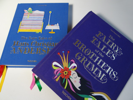 TASCHEN's Hans Christian Andersen Fairy Tales and Brothers Grimm Fairy Tales books