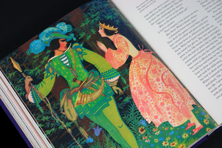 illustration for the Snow White story