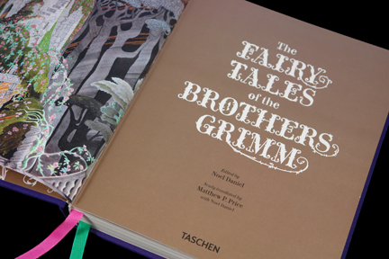 title page of the Fairytales of the Brothers Grimm book