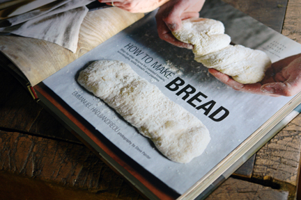 "title page of the ""How to Make Bread"" book"
