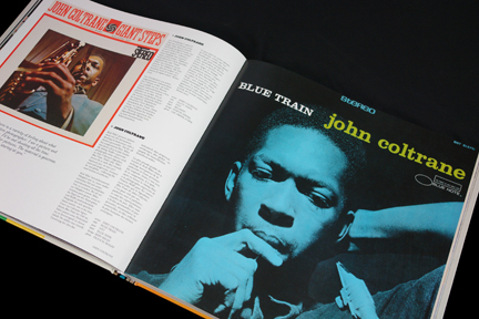 """Blue Train"" John Coltrane LP cover"