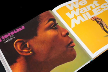 "Miles Davis ""Sorcerer"" and ""We Want Miles"" LP covers"