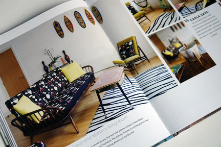 Carla's home featured in Style Your Modern Vintage Home