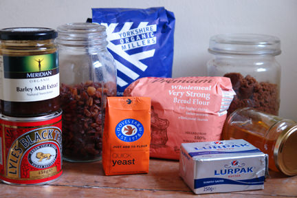 malt loaf ingredients