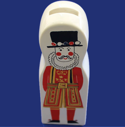 vintage Carltonware beefeater moneybox for sale on eBay for Charity in support of Hospiscare